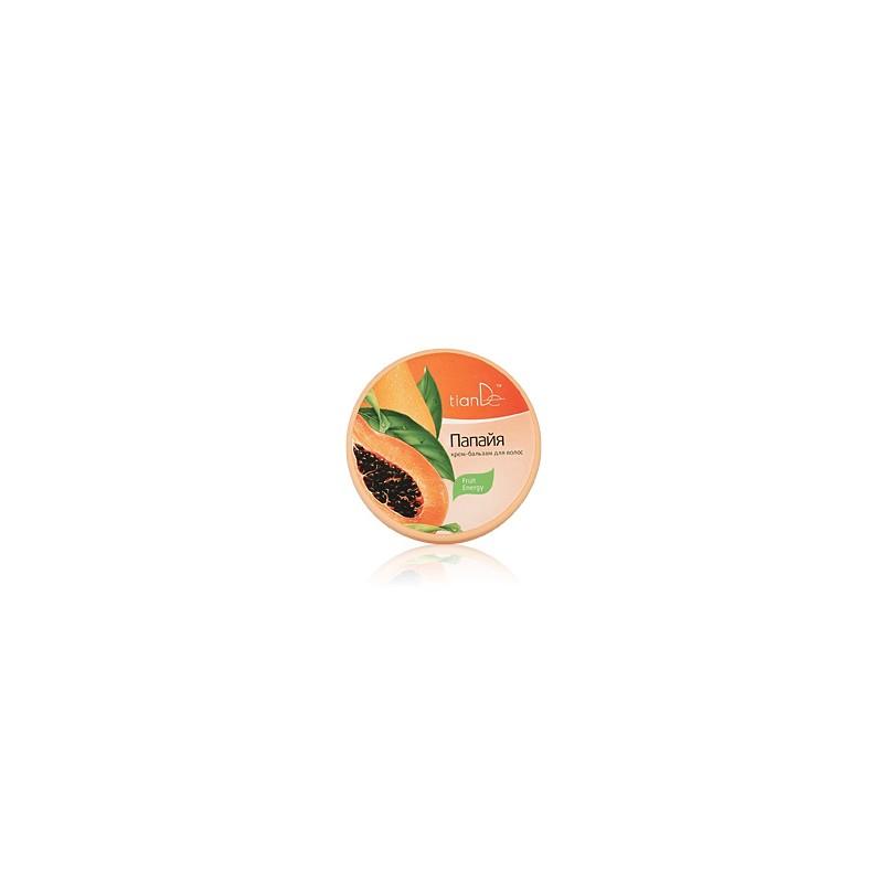 Hair balm cream «Papaya»
