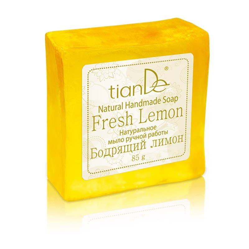 Fresh Lemon Natural Handmade Soap, 85g