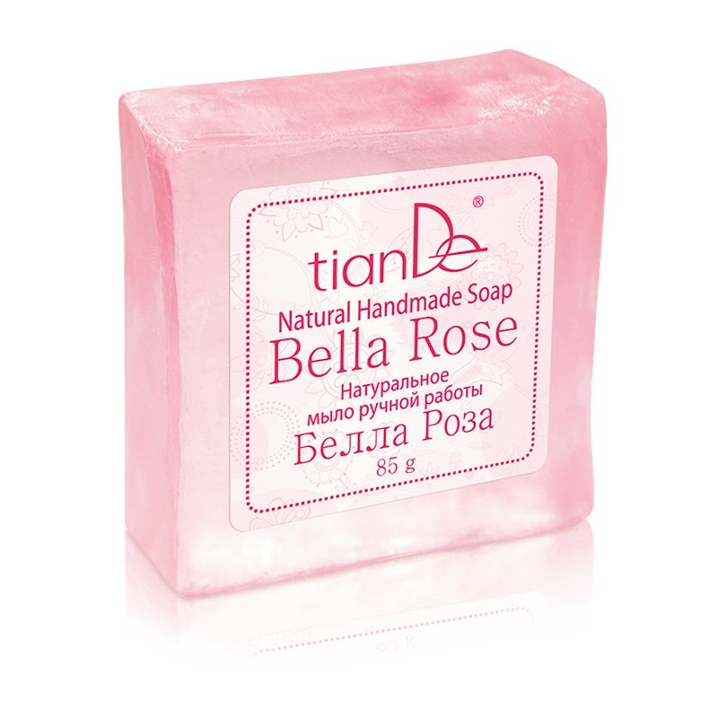 Bella Rosa Natural Handmade Soap, 85g