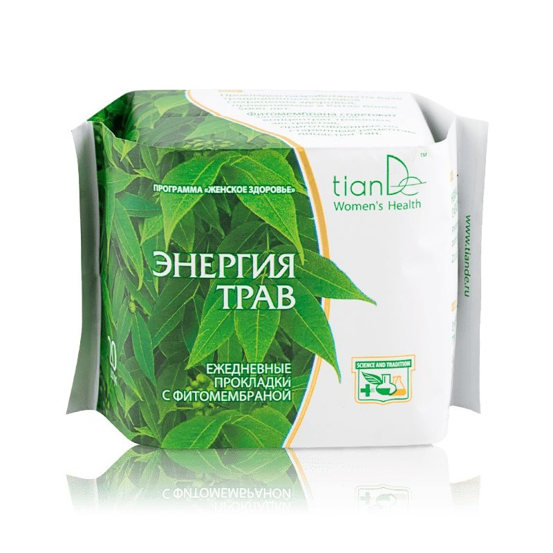 Daily Panty Liners Herbal Energy 20 pcs