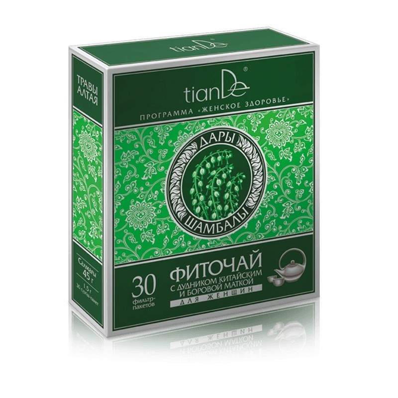 Phytotea with Angelica Sinensis and Ortilia Secunda for Women