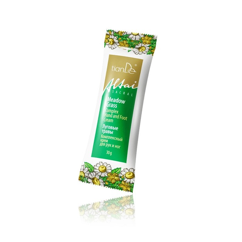 "Complex Cream for hands and feet ""Meadow Herbs"" 30g"