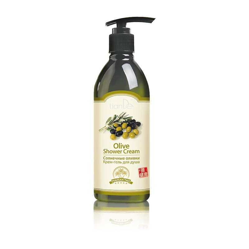Olive Shower Cream - Hainan Tao
