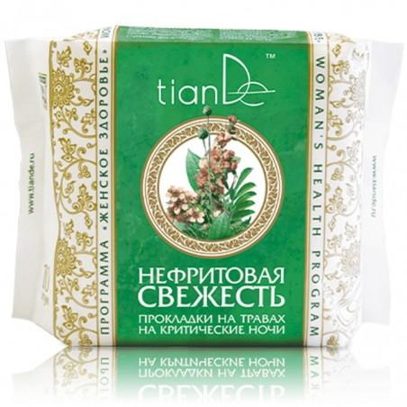 Night sanitary pads with herbs Nephrite Freshness 10pc