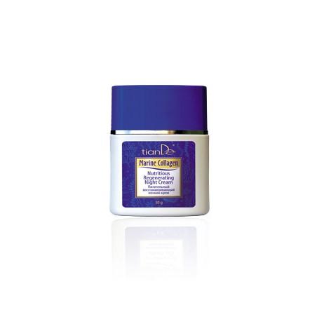 Nourishing rejuvenating night cream - Marine collagen