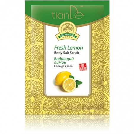 Fresh Lemon Body Salt Scrub 60g