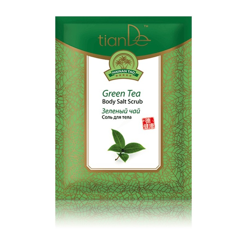 Green Tea Body Salt Scrab