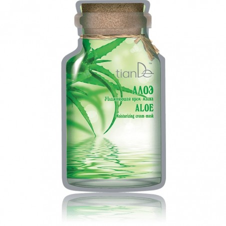 Aloe Moisturising Cream-mask