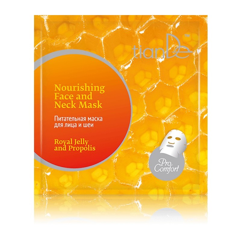 Royal Jelly and Propolis Nourishing Face and Neck Mask