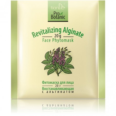 Revitalizing Alginate Facial Phytomask	 20 g