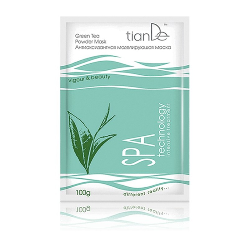 Antioxidant modeling mask «Green Tea» SPA technology
