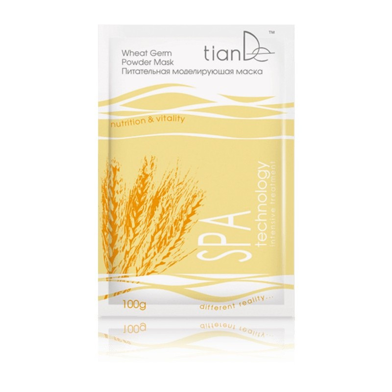 Nourishing modeling mask «Wheat germs» SPA technology