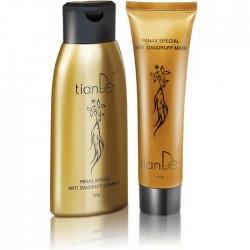 Zestaw z ekstraktem żeń-szenia: szampon + maska 220+100 g