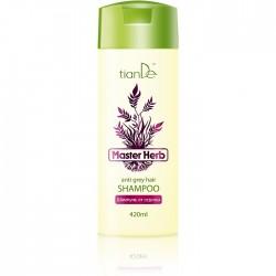 TianDe Szampon zapobiegający siwieniu włosów 420 ml