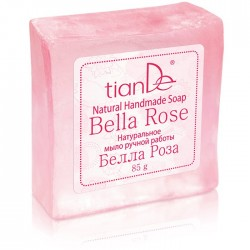 Bella Rosa Natural Handmade Soap, 85g