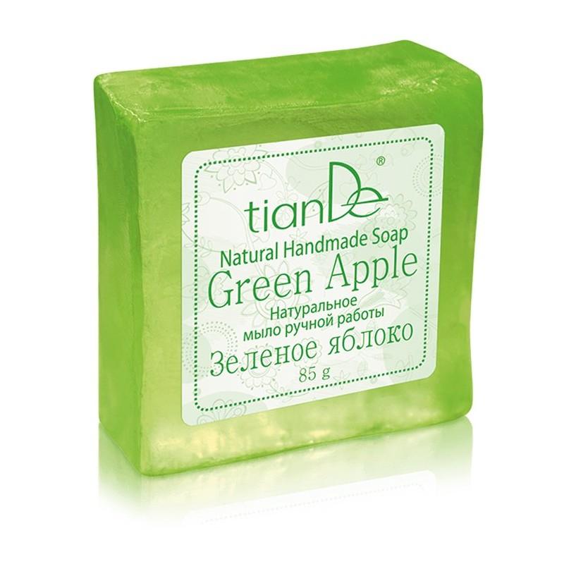 """Натуральное мыло """"Зелёное яблоко"""", 85 g"""