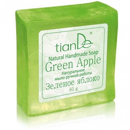 """Mydło ręcznej roboty """"Zielone Jabłko"""", 85g"""