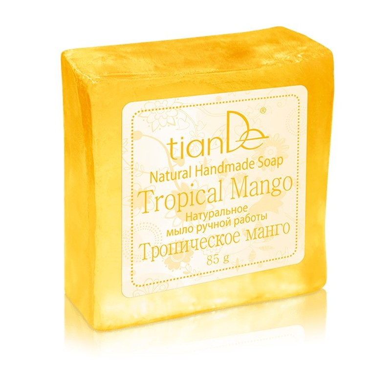 Natural Handmade Soap Tropical Mango, 85g
