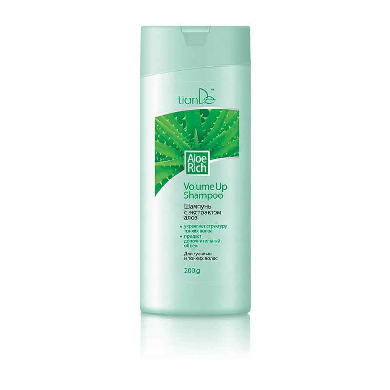 Shampoo Aloe Rich - Volume Up 200g