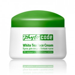 Face cream with white tea Anti-aging care and UF protection, 50g