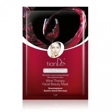 Wine Therapy Facial Beauty Mask, 1pc