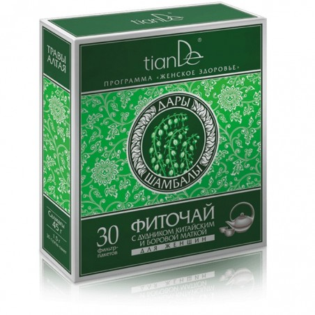 Phytotea with Angelica Sinensis and Ortilia Secunda for Women, 30 x 1.5g