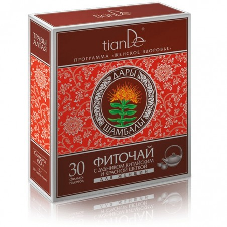 Phytotea with Angelica Sinensis and Rhodiola for Women, 30 x 2g
