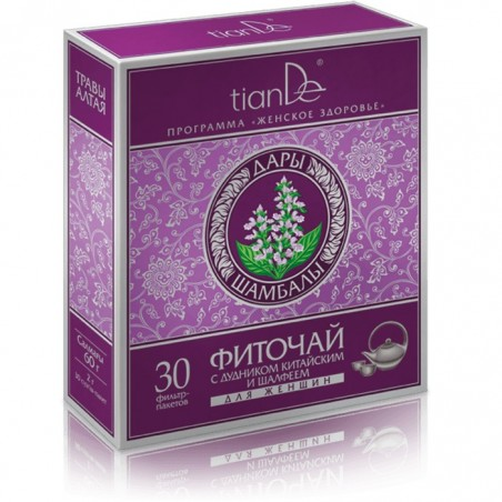 Phytotea with Angelica Sinensis and Sage for Women, 30 x 2g