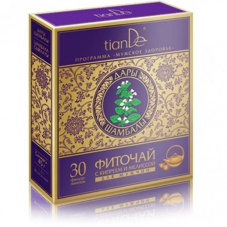 Herbata ziołowa z wierzbówka kiprzyca i melisą dla mężczyzn