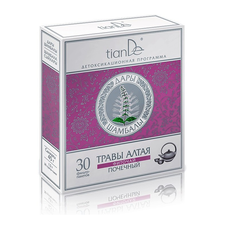 Herbal Tea For Support Urinary Tract,Tiande Nephritic, 30x1.5g, tiande 123922