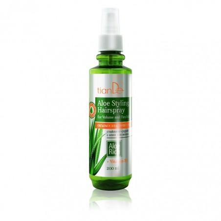 """Spray do stylizacji włosów z aloesem """"Objętość i elastyczność"""" 200ml"""