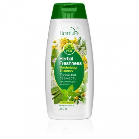 """Nawilżający szampon """"Ziołowa świeżość"""" 250g"""