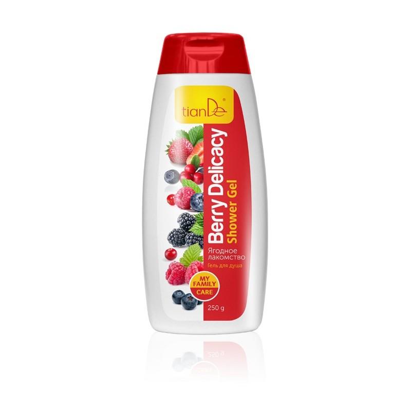 "Shower gel ""Berry Delicacy"" 250g"