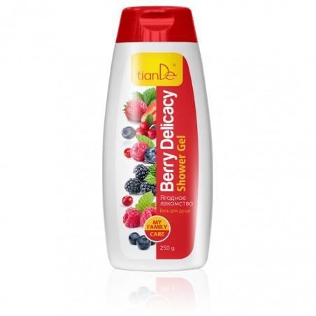 "Shower gel Berry Delicacy"" 250g"""