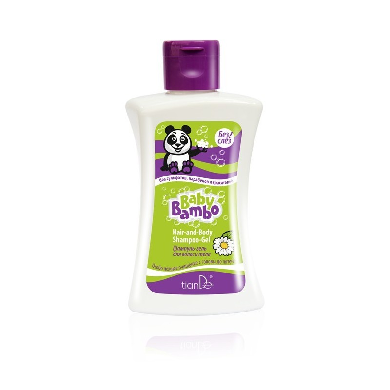 """Šampūnas – Gelis Plaukams Ir Kūnui """"Baby Bamboo"""",250g"""