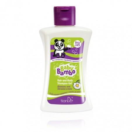 "Shampoo body and hair gel Baby Bambo"" 250g"""