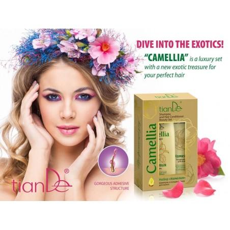 """Rinkinys """"Camellia"""" šampūnas ir balzamas 220+100 g."""