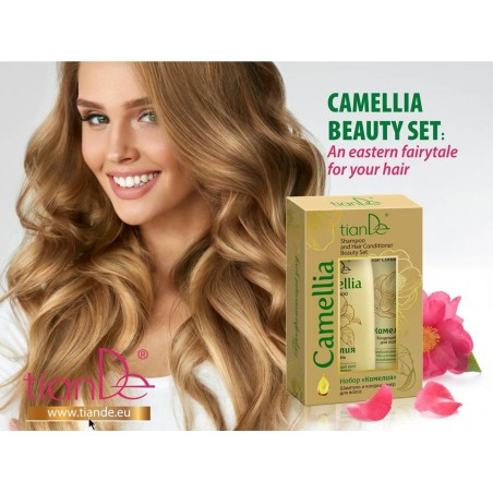 Camellia Shampoo and Hair Conditioner Beauty Set 220g+100g