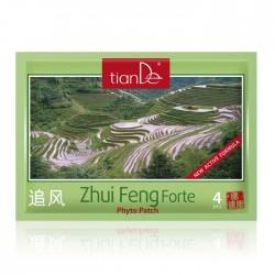 """Kosmetyczny plaster ziołowy do ciała """"Zhui Feng Forte"""", 4 szt"""