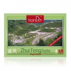 Zhui Feng Forte Cosmetic Body Phyto Patch, 4 pcs
