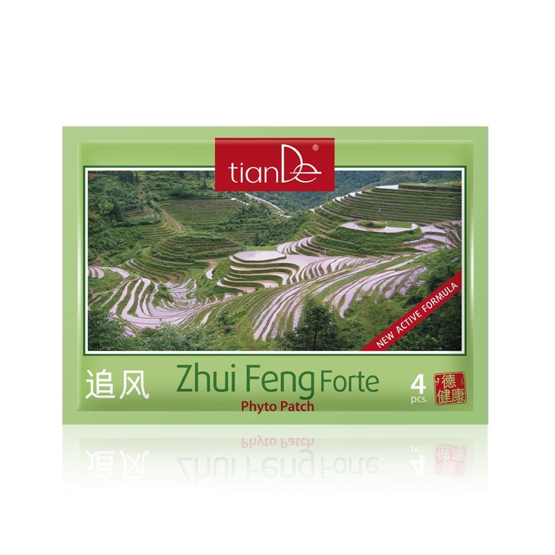 Zhui Feng Forte Cosmetic Body Phyto Patch, Amount: 4 pcs