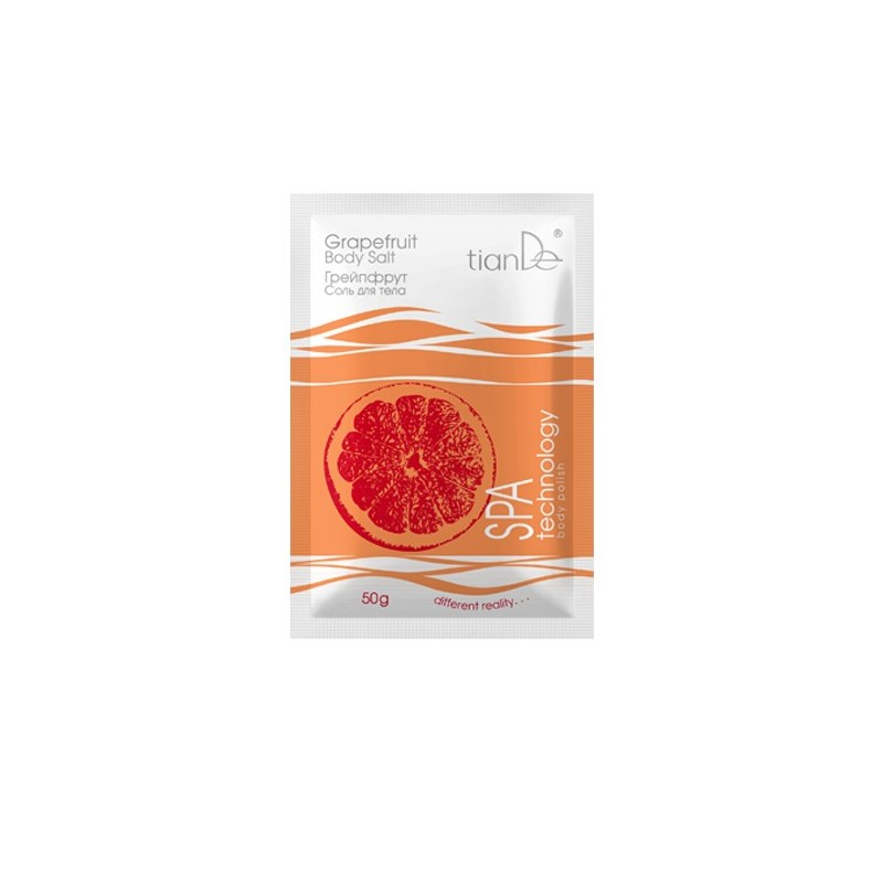 Grapefruit Body Salt, Weight: 50 g