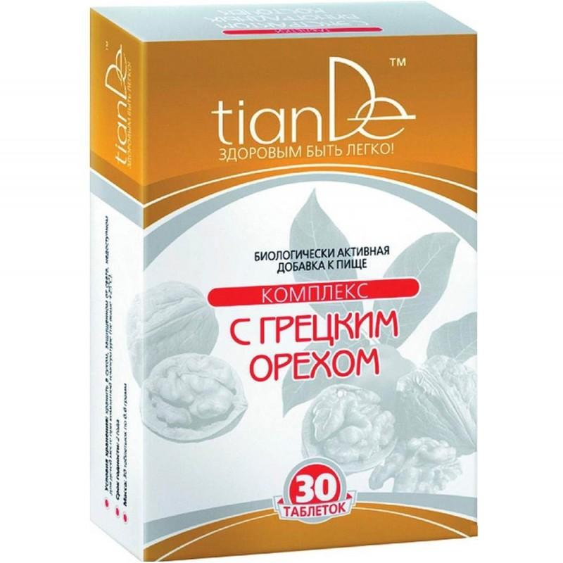 Комплекс TianDe с грецким орехом, 30 таблеток