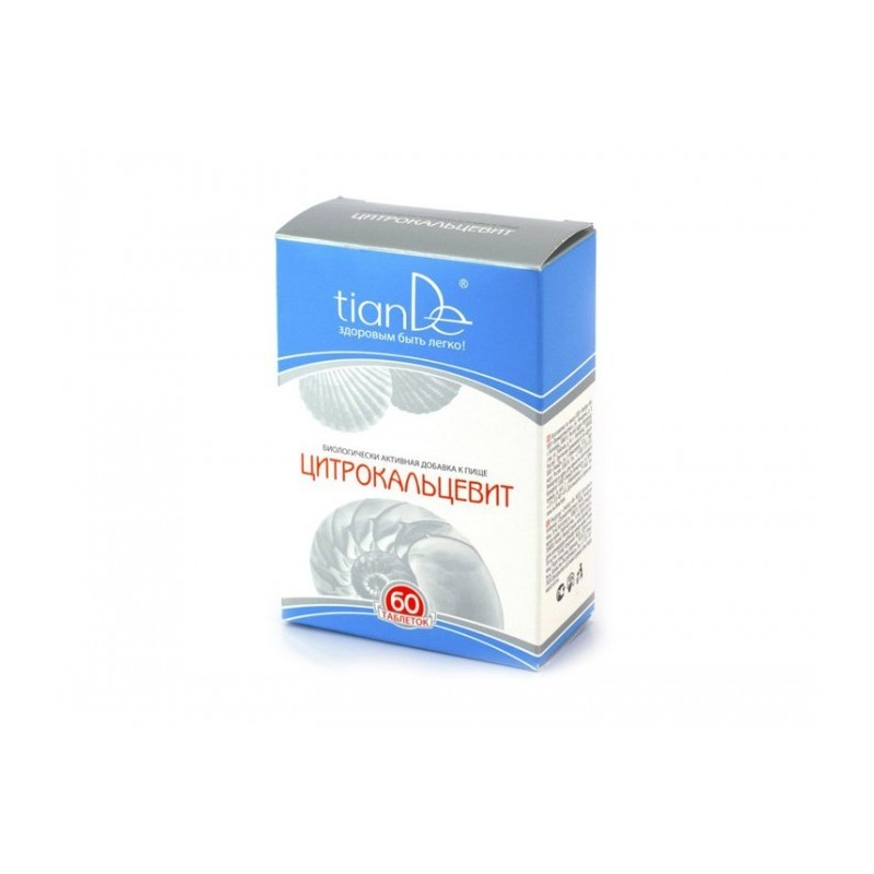 Kompleks witaminowo-mineralny Citrocalcevit, 60 tabletek