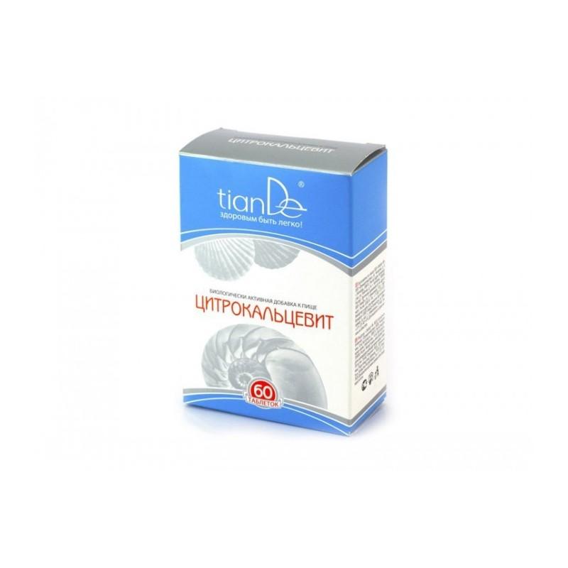 Витаминно-минеральный комплекс TianDe Цитрокальцевит, 60 таблеток