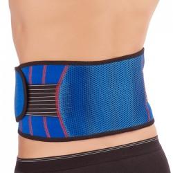 Belt with tourmaline spot coating