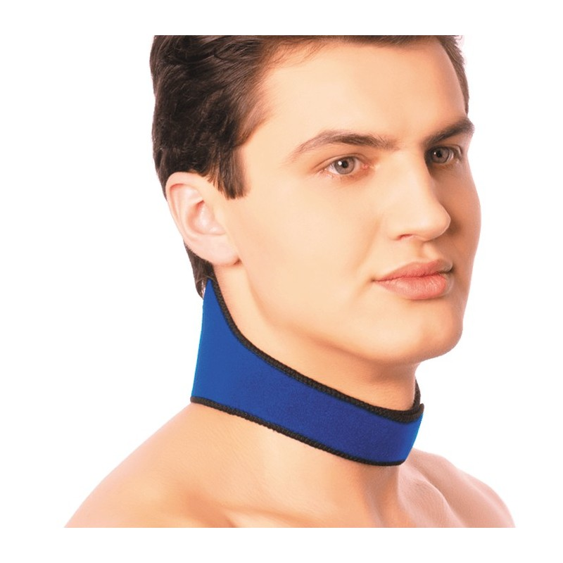 Повязка на шею с точечным нанесением турмалина, 1шт.