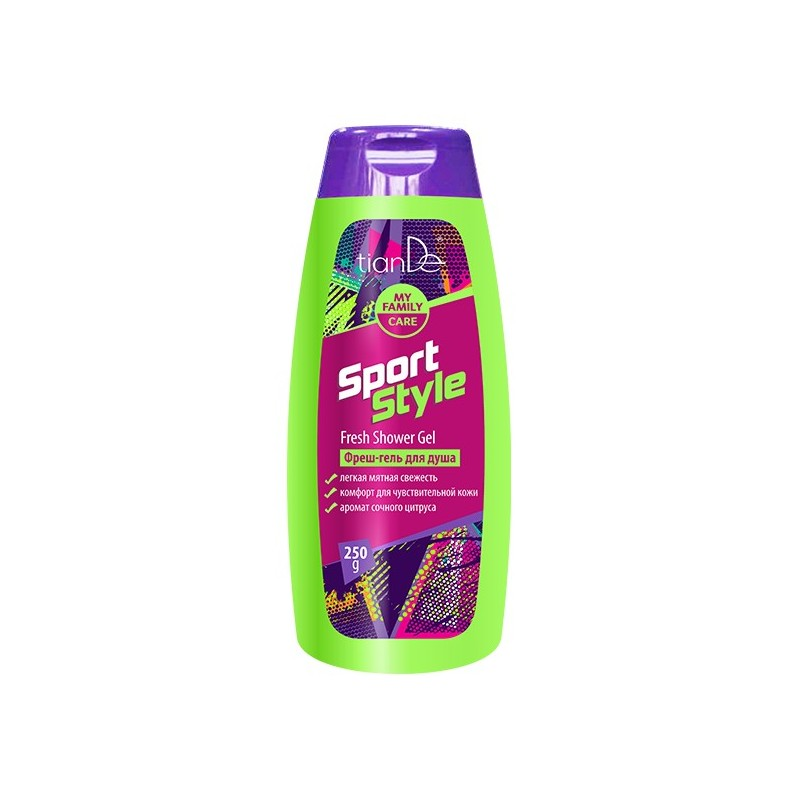 Sport Style Fresh Shower Gel,250g