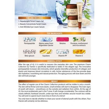Aquatherapy Facial Cream-Gel, 50g