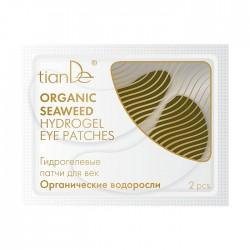 """Hydrożelowe płatki do powiek """"Algi organiczne"""", 2szt."""